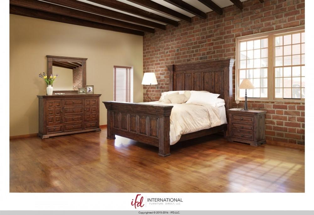 IFD 1020 Queen Bedroom Suite