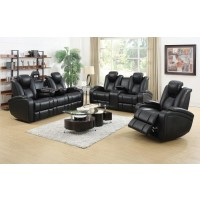Leather Reclining Living Room Group