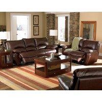CLIFFORD MOTION COLLECTION - Clifford Motion Dark Brown Power Reclining Two-Piece Living Room Set