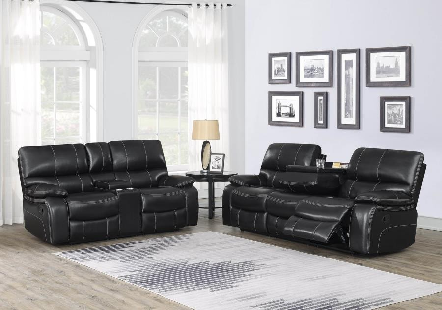 Willemse Dark Brown Reclining Two-Piece Living Room Set