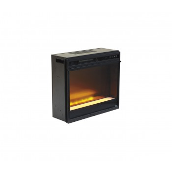 Entertainment Accessories - Fireplace Insert Glass/Stone