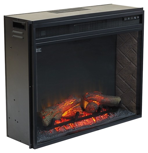 Entertainment Accessories Electric Fireplace Insert W100 21