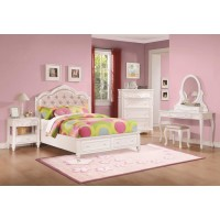 Caroline White Twin Five-Piece Set