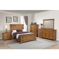 Brenner Rustic Honey California King Five-Piece Set