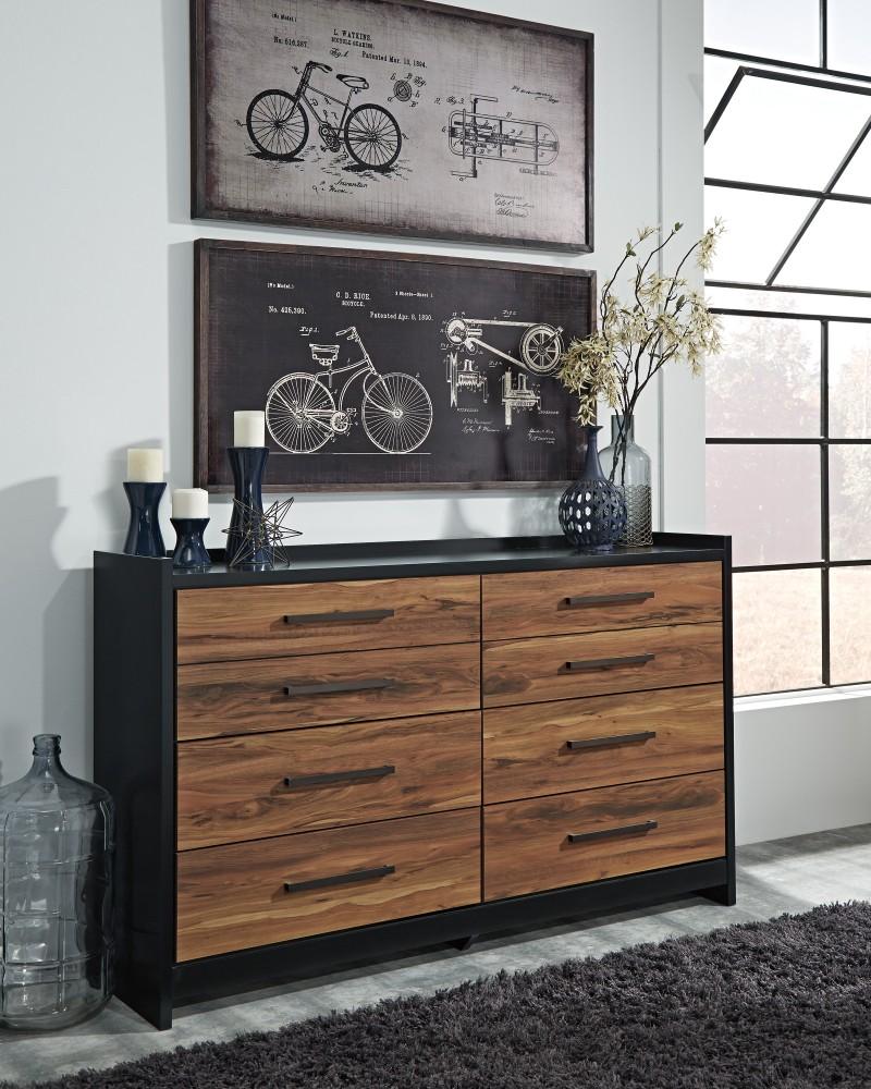 Stavani - Black/Brown - Dresser