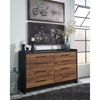 Stavani - Black/Brown - Dresser