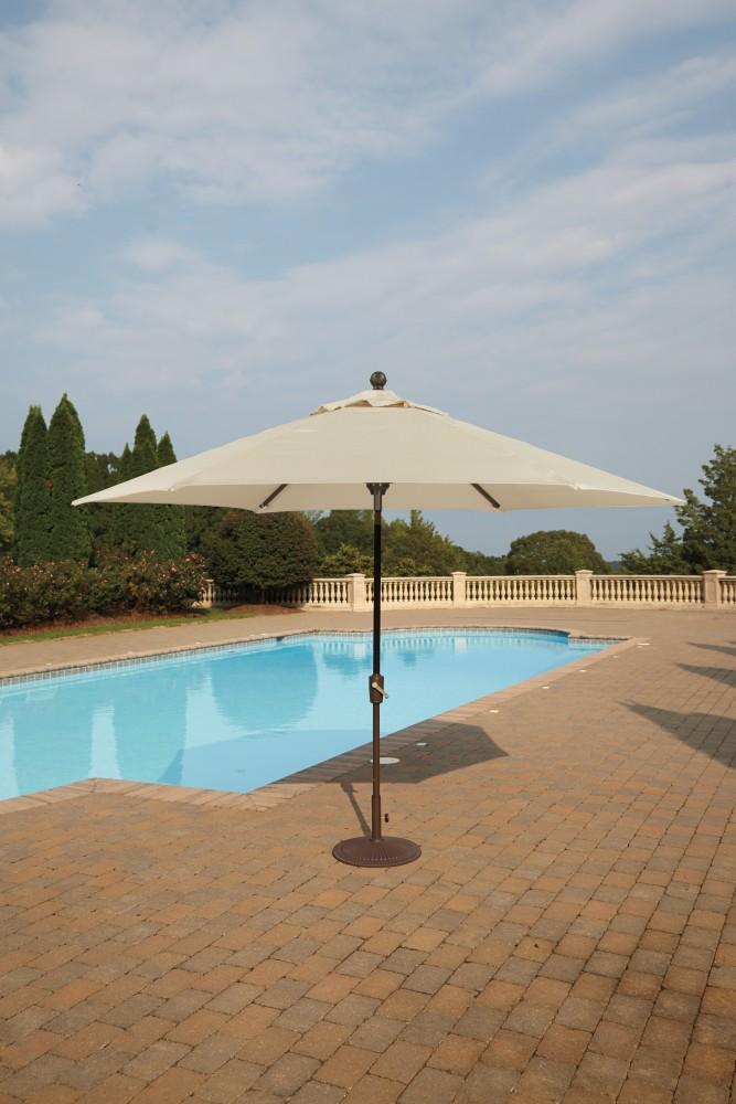 Umbrella Accessories - Multi - Medium Auto Tilt Umbrella