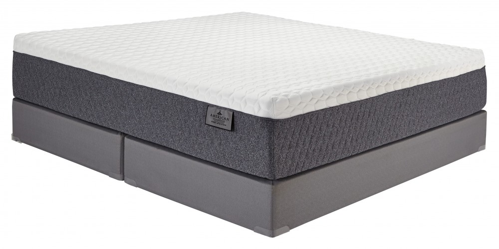 American Classic Plush Latex Hybrid - White - California King Mattress