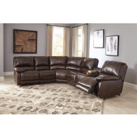 Hallettsville Right-Arm Facing Power Reclining Loveseat with Console