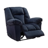 Nimmons - Midnight - Zero Wall Recliner