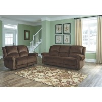 Goodlow - Chocolate - PWR REC Sofa with ADJ Headrest