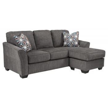 Brise - Slate - Queen Sofa Chaise Sleeper