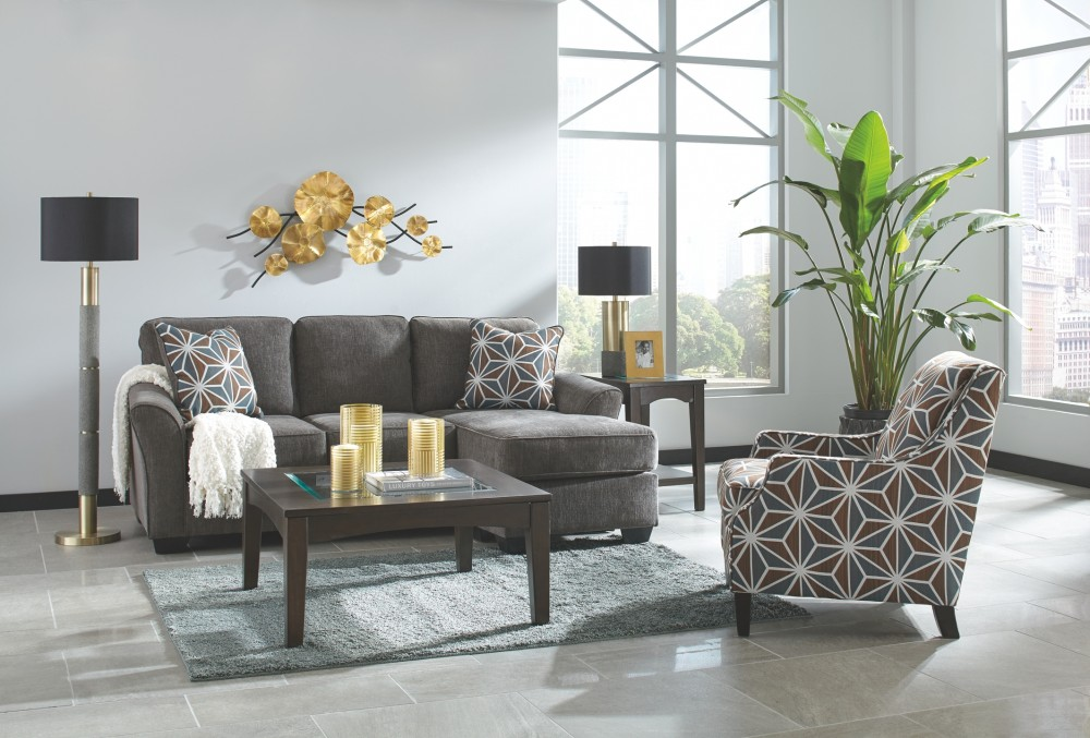 Fabulous Brise Slate Queen Sofa Chaise Sleeper Dailytribune Chair Design For Home Dailytribuneorg
