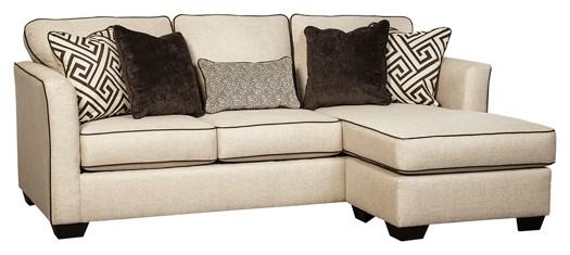 Carlinworth - Linen - Queen Sofa Chaise Sleeper