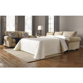 Denitasse - Parchment - Queen Sofa Sleeper