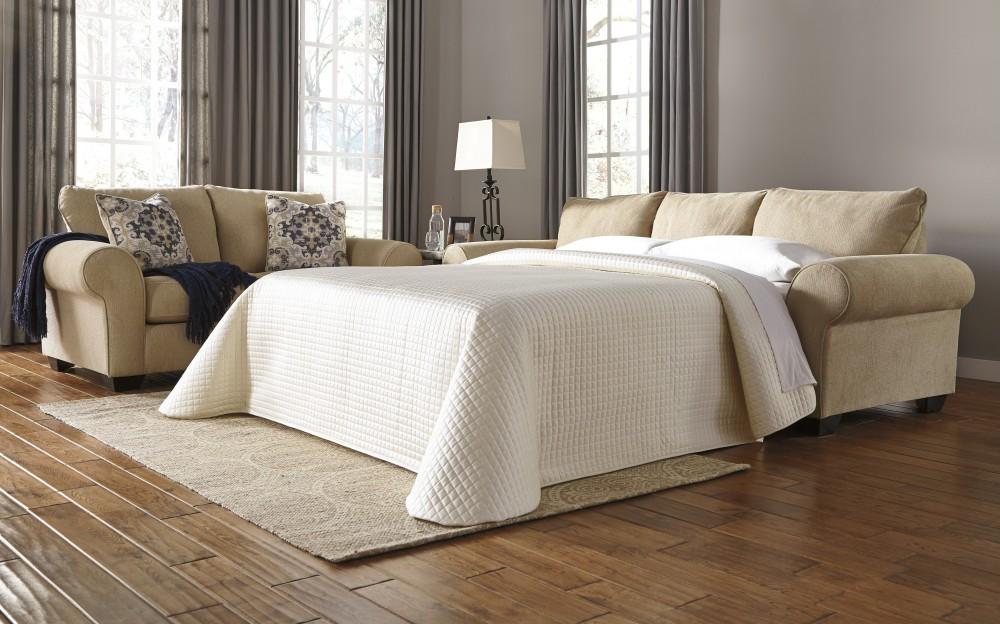Denitasse - Parchment - Queen Sofa Sleeper