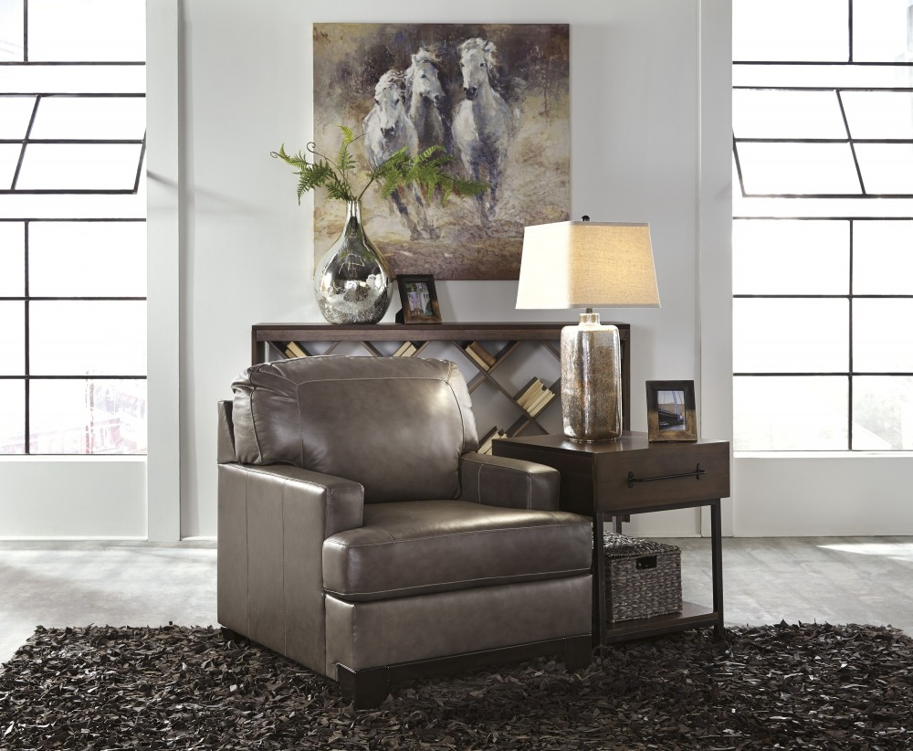 Derwood   Pewter   Chair
