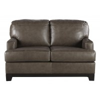 Derwood - Pewter - Loveseat