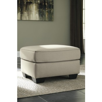 Calicho - Ecru - Oversized Accent Ottoman
