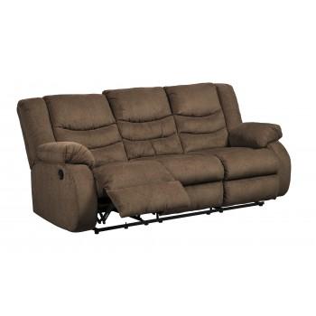 Tulen - Chocolate - Reclining Sofa
