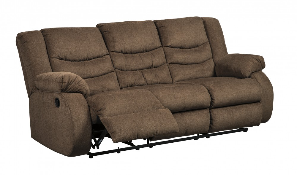 Tulen - Chocolate - Reclining Sofa