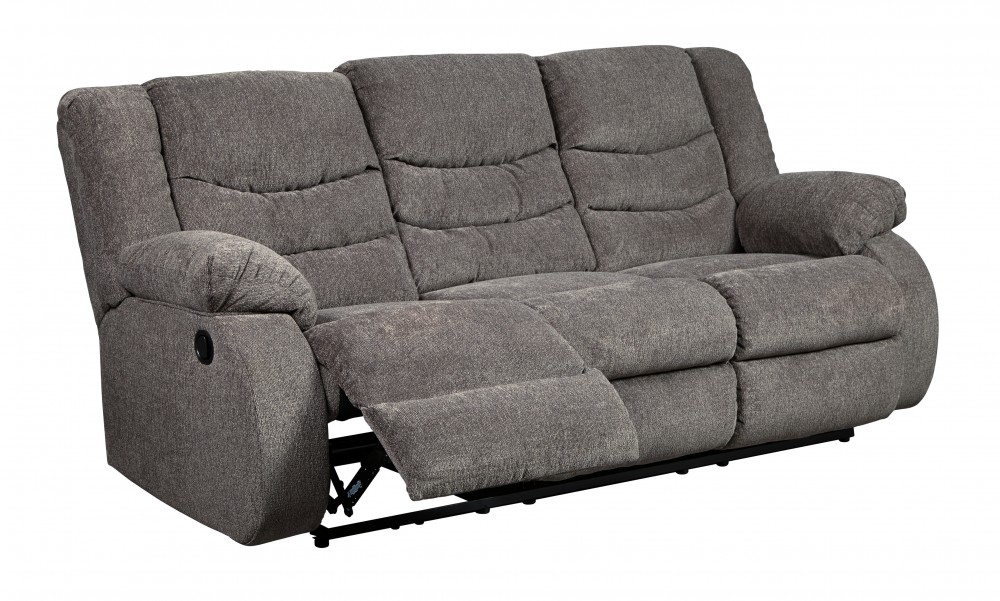 Tulen - Gray - Reclining Sofa