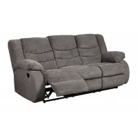 Tulen - Gray - Reclining Sofa