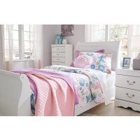 Anarasia - White - Twin Sleigh Headboard