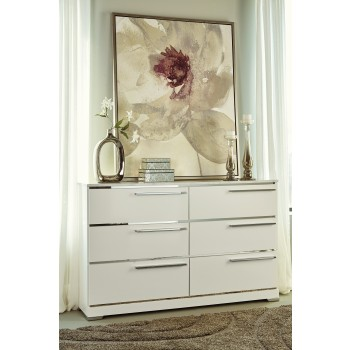 Brillaney - White - Dresser