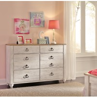 Willowton - Whitewash - Dresser