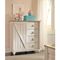 Willowton - Whitewash - Dressing Chest
