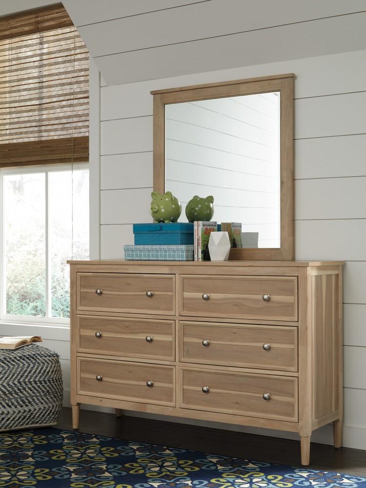 Klasholm - Light Brown - Bedroom Mirror