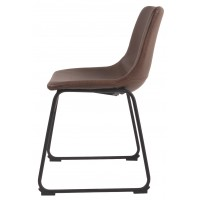 Centiar Two Tone Brown Dining Uph Side Chair 2 Cn