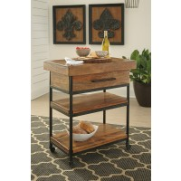 Glosco - Brown - Serving Cart