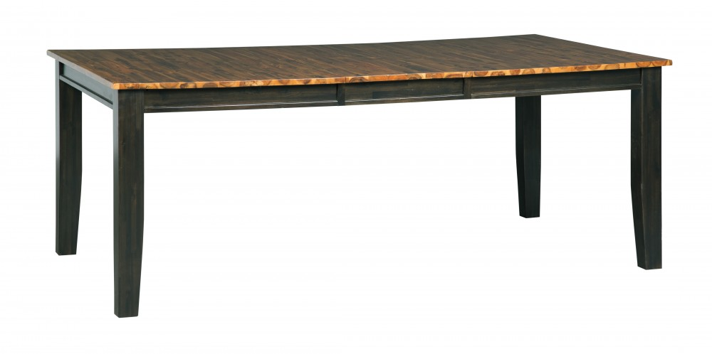 Quinley - Two-tone Brown - RECT DRM Butterfly EXT Table