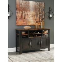 Quinley - Two-tone Brown - Dining Room Server