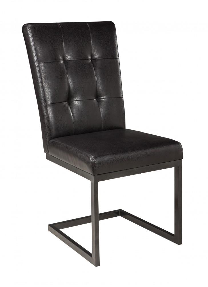 Esmarina - Walnut Brown - Dining UPH Side Chair (2/CN)