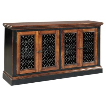 Zurani   Brown/Black   Dining Room Server | D709 60 | Servers | The Venice  Auction Company