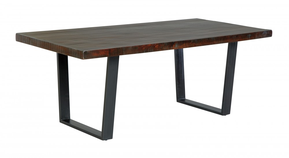 Parlone - Dark Brown - Rectangular Dining Room Table