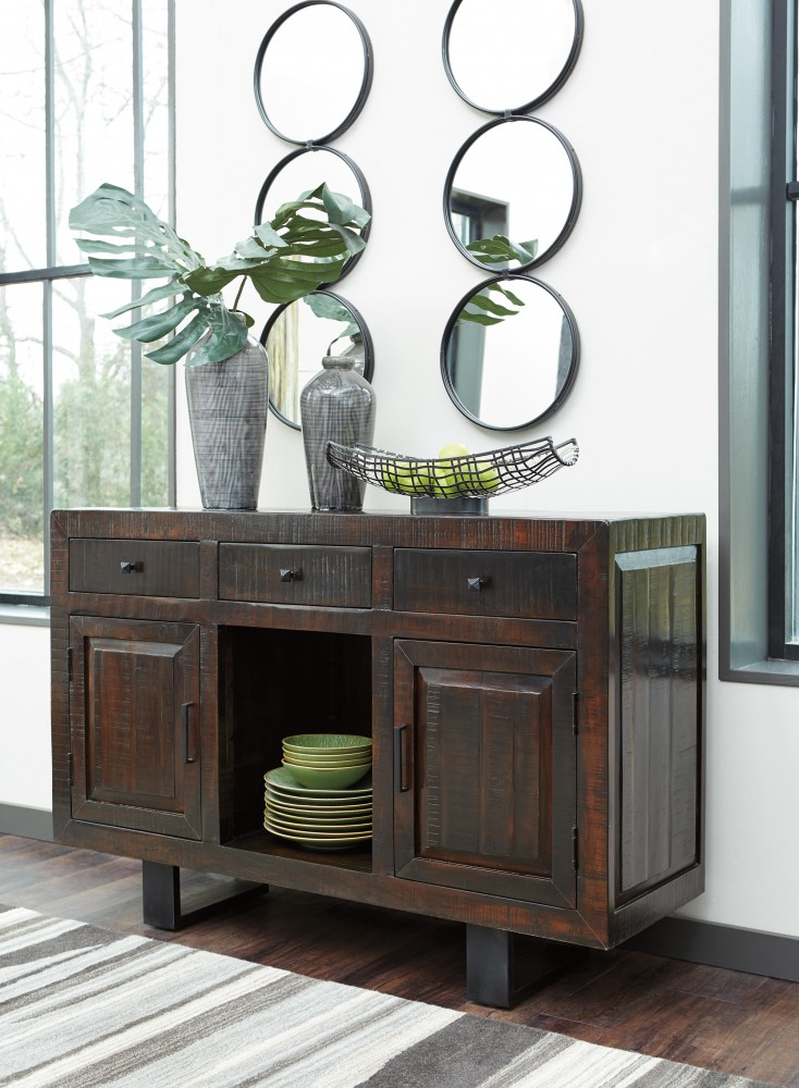 Parlone - Dark Brown - Dining Room Server | D721-60 | Servers ...