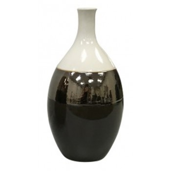 Dericia - Brown/Cream - Vase