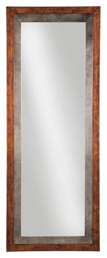 Niah - Brown/Silver - Accent Mirror