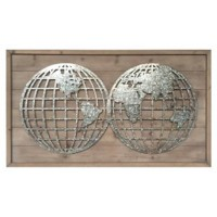 Devonte - Natural/Silver - Wall Decor