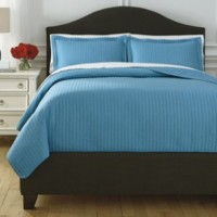 Raleda - Turquoise - Twin Coverlet Set