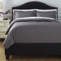Raleda - Gray - Full Coverlet Set