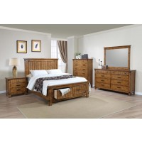 Brenner Rustic Honey Queen Five-Piece Set