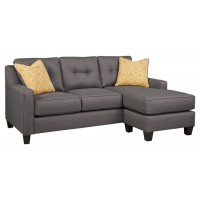 Aldie Nuvella - Gray - Sofa Chaise