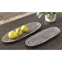 Devonee - Antique Gray - TRAY (SET OF 2)