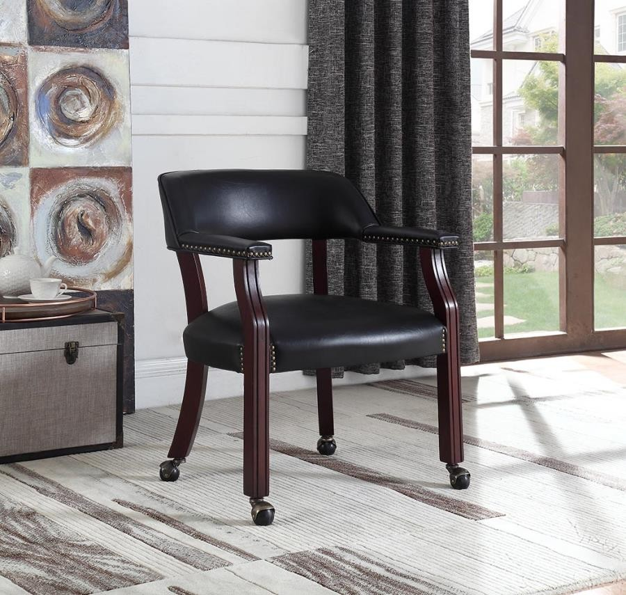Home Office Chairs Modern Black Guest Chair 415k Home Office Desk Chair Brady Home Furniture