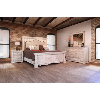Chalet Nero White Bedroom Collection